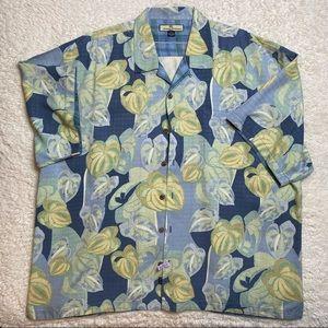 Tommy Bahama Hawaiian Print Button Down